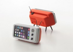 Retroduck iPhone Dock Transform your iPhone into a Retro-Style Television