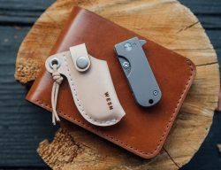 The WESN Titanium Micro Blade EDC Pocket Knife Keychain