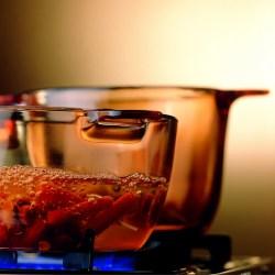 康宁VISIONS 晶彩透明锅,家用玻璃锅煲汤砂锅炖锅4件套组