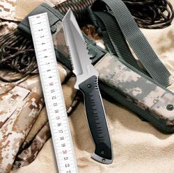 Gerber/戈博 黑鹰之刃户外军刀,几何刀头荒野求生刀