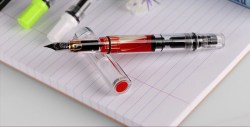 TWSBI/三文堂钢笔,ECO透明活塞吸墨式钢笔礼盒