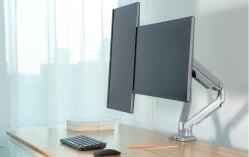 Brateck显示器支架17-32英寸 LDT14-C024U,双屏支架无缝拼接