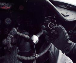 Leather Crochet Touchscreen Gloves By Mujjo