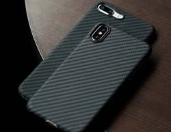 PITAKA Magcase Aramid carbon Fiber iPhone X Case
