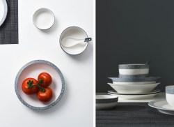 无名印象简约日式碗碟套装,可自由搭配,礼盒包装