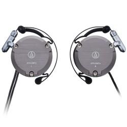 Audio Technica铁三角 ATH-EM7X 复刻版耳挂式运动耳机,金属烤漆质感