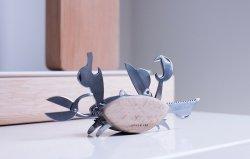 Beechwood Crab Multi Tool By Kikkerland