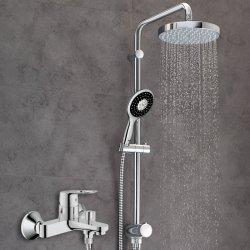 GROHE高仪 浴缸淋浴双用花洒套装,200mm大顶喷130mm保颂手持