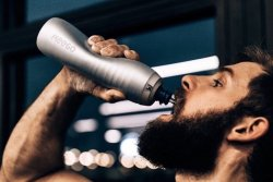 KEEGO Squeezable Metal Water Bottle Keeping Your Water Pure And Healthy