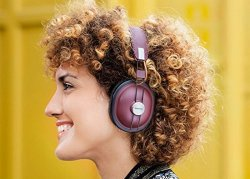 Panasonic RP-HTX80B Wireless Retro Over-The-Ear Headphones