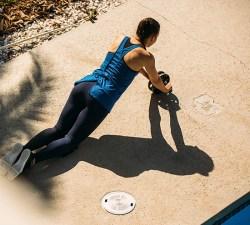 Decathlon/迪卡侬 健腹轮,健身轮男女健身器材