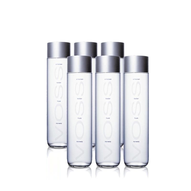 VOSS芙丝 饮用水 375毫升 12瓶装,口感无与伦比,简约高贵瓶身设计