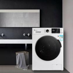 小天鹅 LittleSwan 10公斤洗烘一体,变频滚筒洗衣机,APP控制 TD100V80WDX