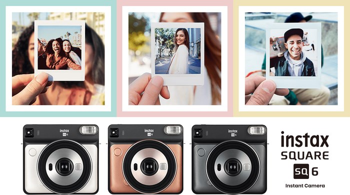 Fujifilm instax SQUARE SQ6 Camera to capture your best moments