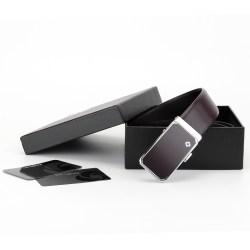 Samsonite 新秀丽 男士皮带,自动扣皮带,棕色 TK2*03001 120CM