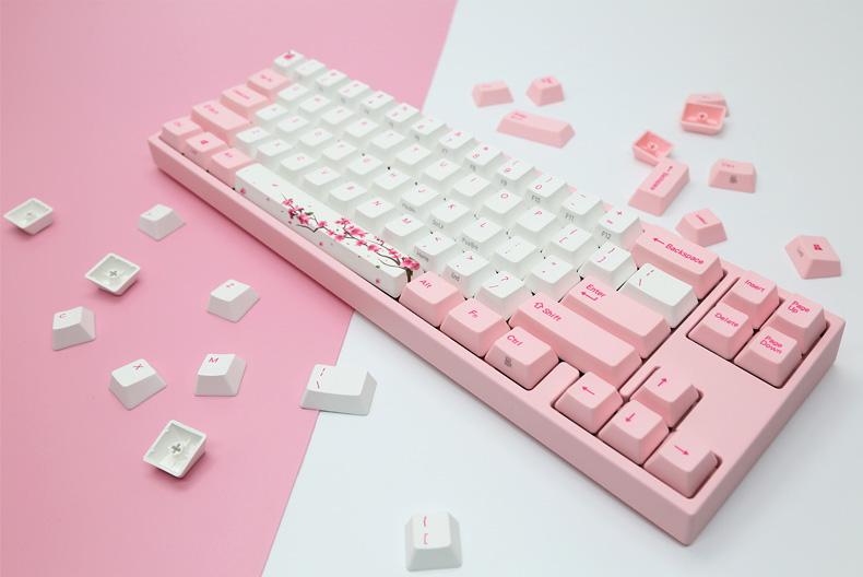 Varmilo 阿米洛机械键盘 VA87M VA108M 樱花系列原厂轴