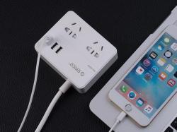 Orico奥睿科 EPC-2A3U 插座,USB智能插排新国标3C认证