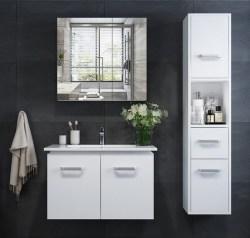 康佳 KONKA 艾斯浴室柜,实木免漆浴室柜组合