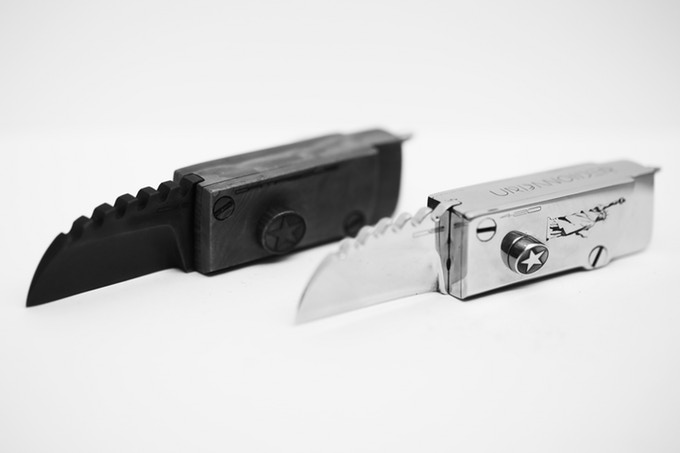 Urbanoider Stainless Steel EDC compact knife