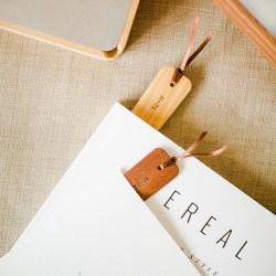 自然和家 创意木质书签可定制