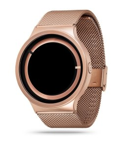 ECLIPSE Steel Rose Gold watch By ZIIIRO