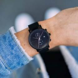 Meller Makonnen All Black Watch