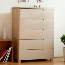 IRIS爱丽思抽屉式多层简约衣物收纳柜,树脂材质,圆角防撞