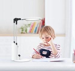 NVC雷士多功能AA级照度护眼台灯,漫射光,调光调色