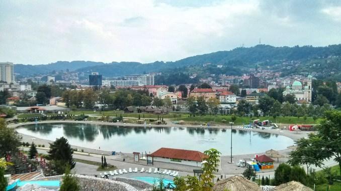Salzsee Tuzla Bosnien