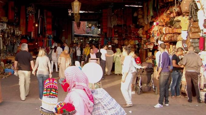 Souks in Marokko