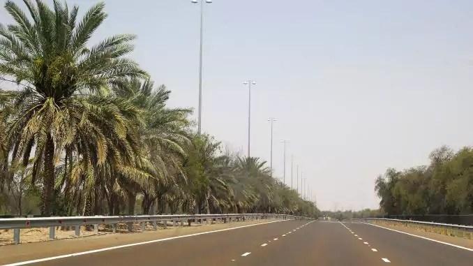 Warmes Wetter und Ramadan in Abu Dhabi