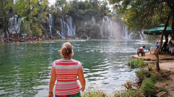 Wasserfälle Kravica in Bosnien-Herzegowina