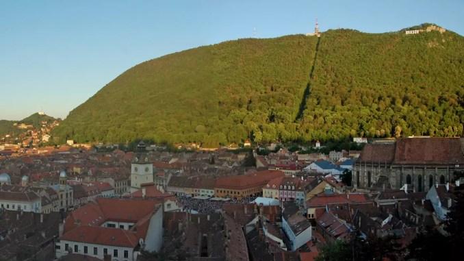 Panorama Altstadt Brasov