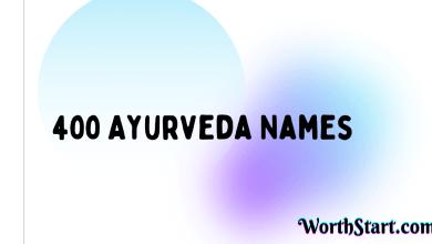 Ayurveda Names Ideas