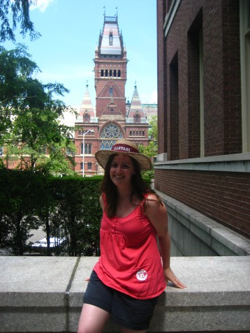 During a free walking tour of Harvard