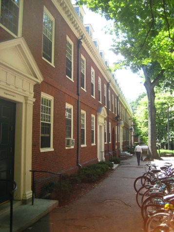 Wiggly dorms at Harvard
