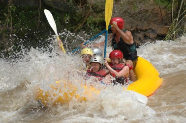 White Water Rafting the Balsa River