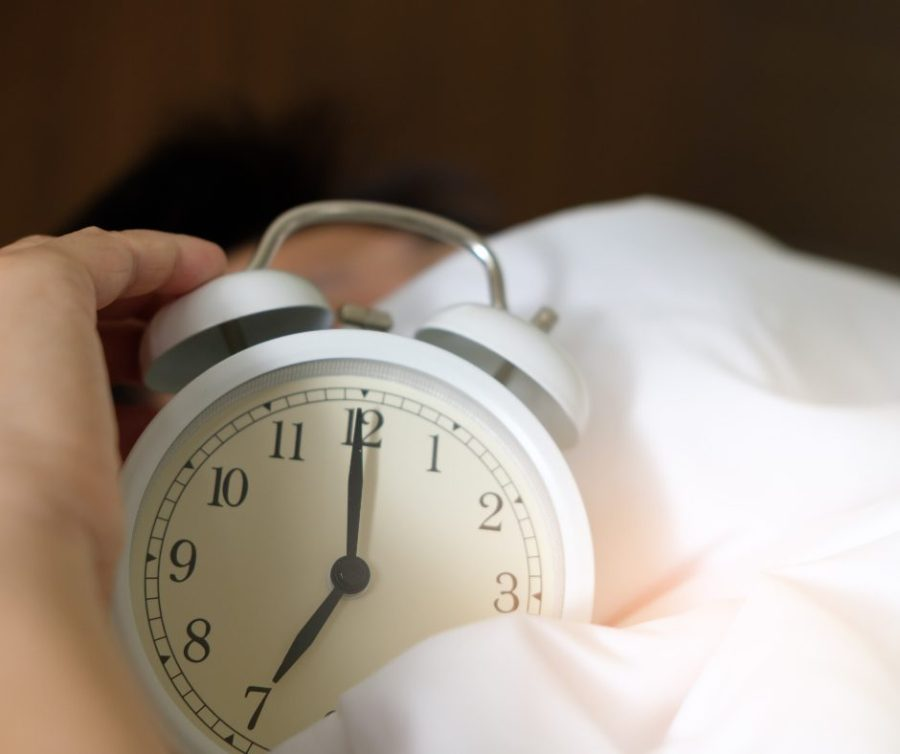You should Sleep more than eight hours a night.