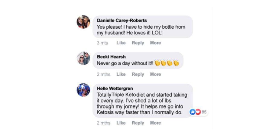 Triple Keto Customer Reviews