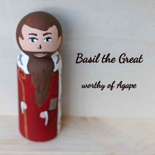 Saint Basil the Great front