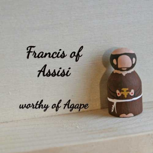 Francis of Assisi keychain