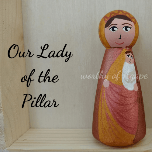 Our Lady of the Pillar peg close main