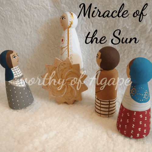 Miracle of the Sun kids backs