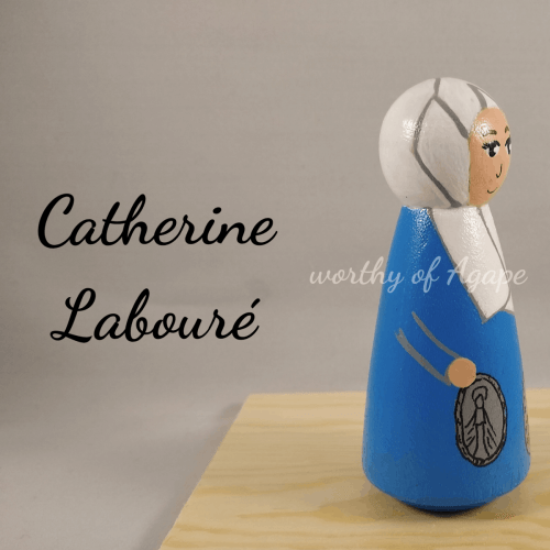 Catherine Labouré side