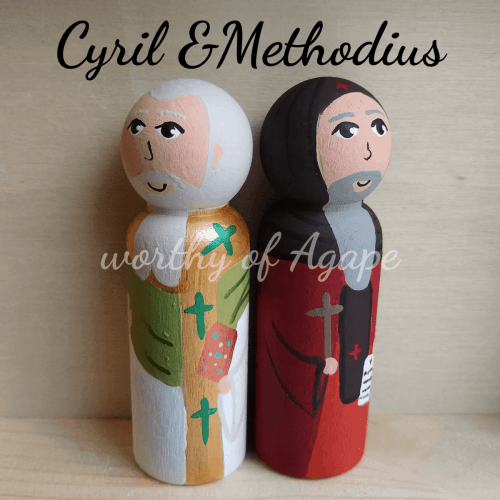 Cyril and Methodius back to back