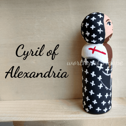 Cyril of Alexandria side