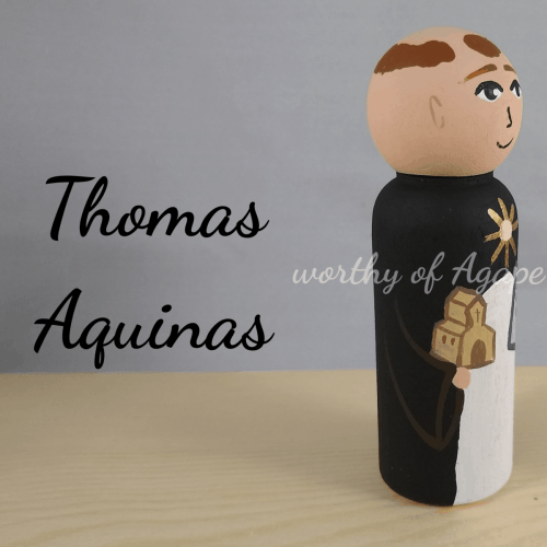 Thomas Aquinas new church side