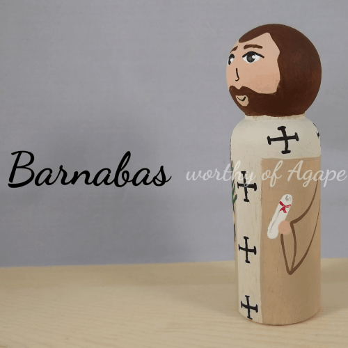 Barnabas scroll side
