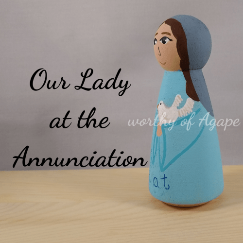 Our Lady Annunciation side 2
