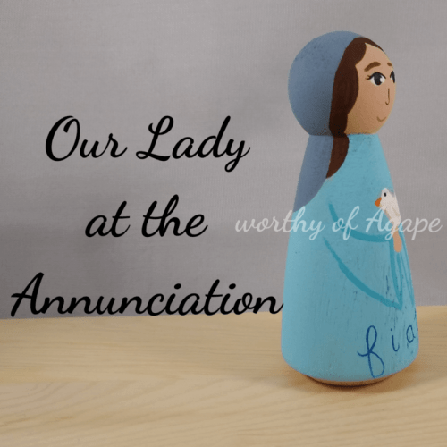 Our Lady Annunciation side